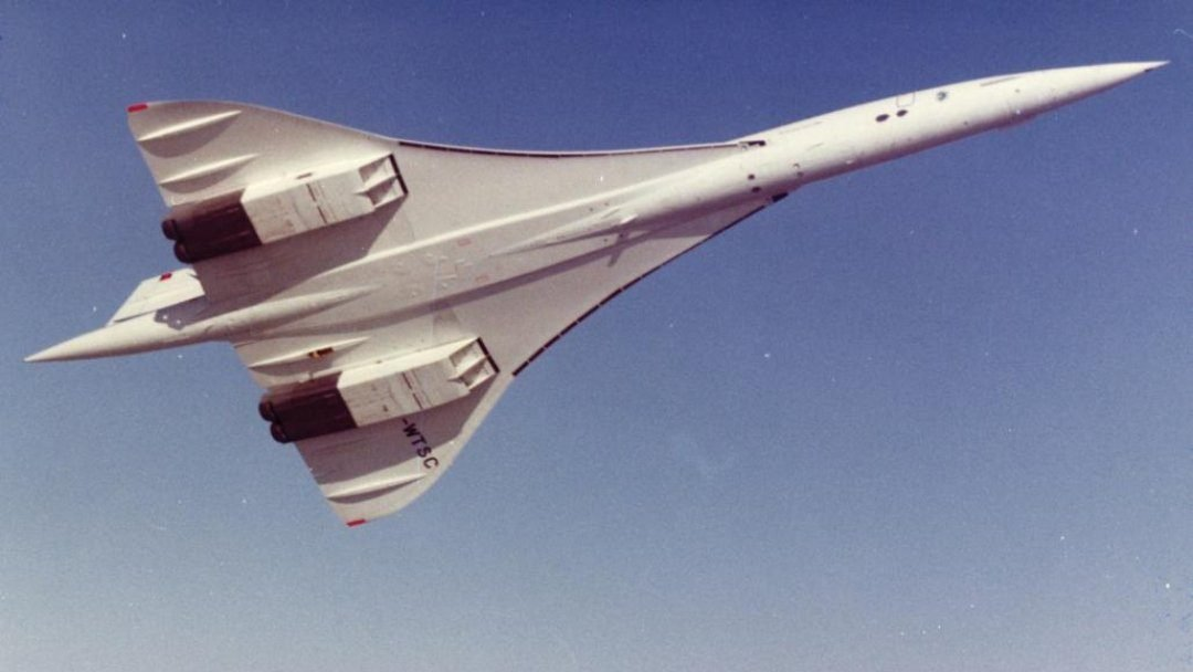 Concorde, o Avião Comercial Supersônico
