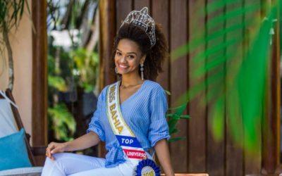 Franciele Jesus, a Miss Brasil Top Universo de Trancoso