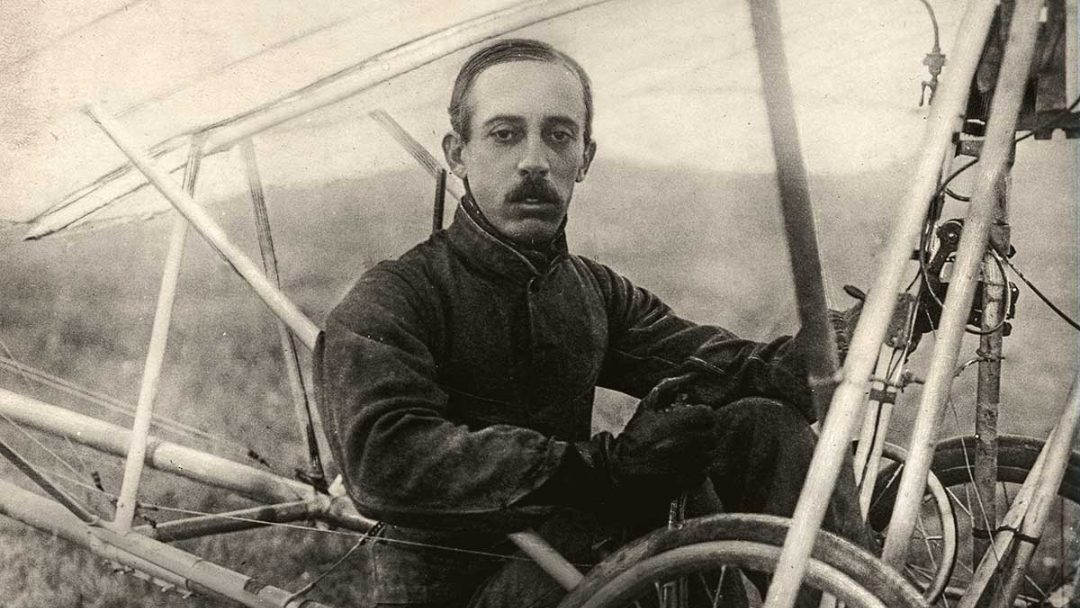 As aeronaves de Santos Dumont