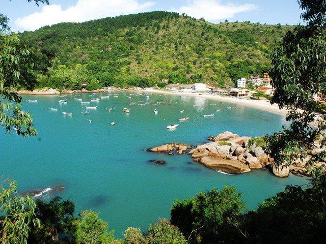 Praia de Ganchos de Fora - Governador Celso Ramos, Santa Catarina