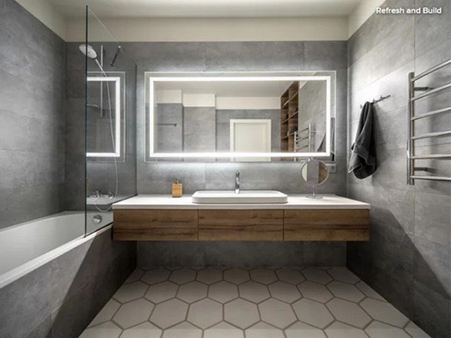 Banheiros minimalistas