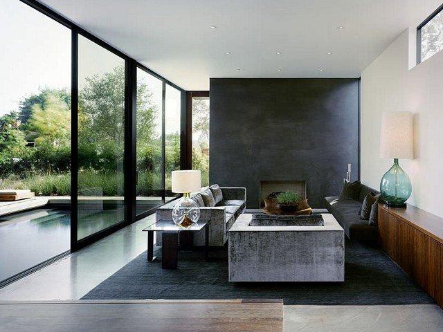 Salas de casas minimalistas