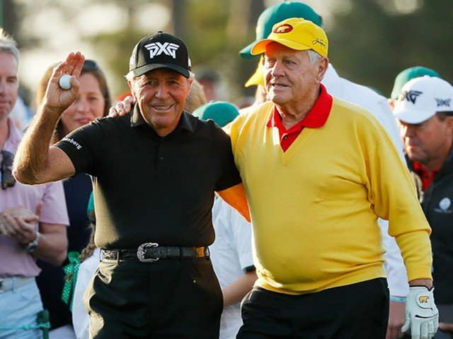 Jack Nicklaus e Gary Player