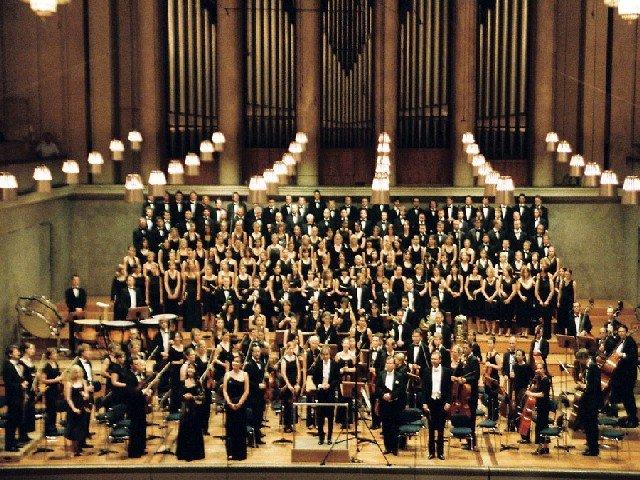 Orquestras filarmônicas e sinfonias