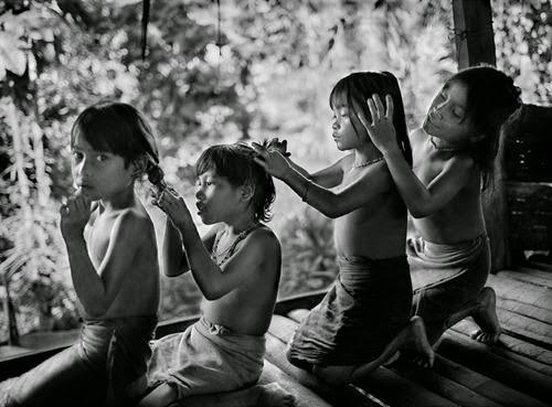 xodos e Retratos de Crianças do Êxodo